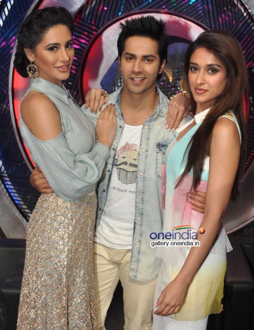 Big B, Varun, Nargis and Ileana at Boogie Woogie Grand Finale Photos