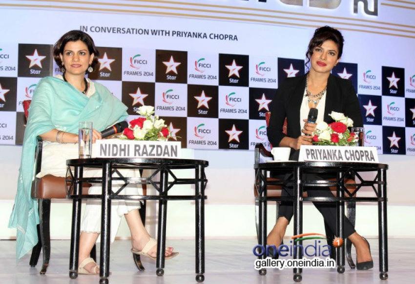 Priyanka Chopra at FICCI Frames 2014 - Day 3 Photos