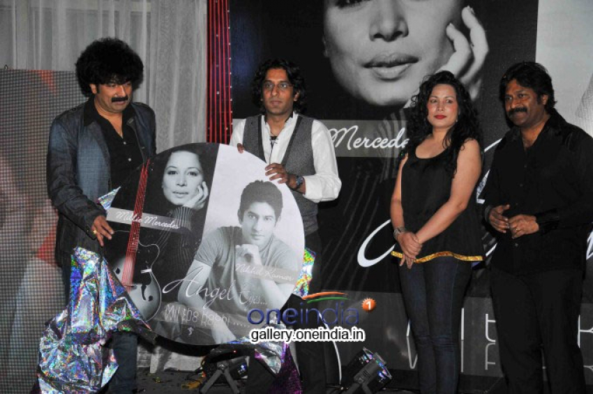 Nikhil Kumar's Angel Eyes Album Launched Photos