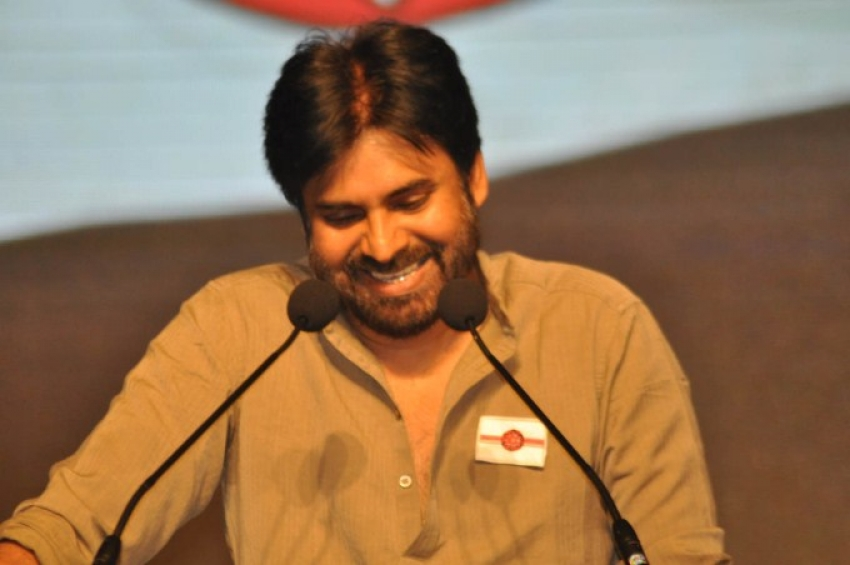Pawan Kalyan's Jana Sena Party Press Meet Photos