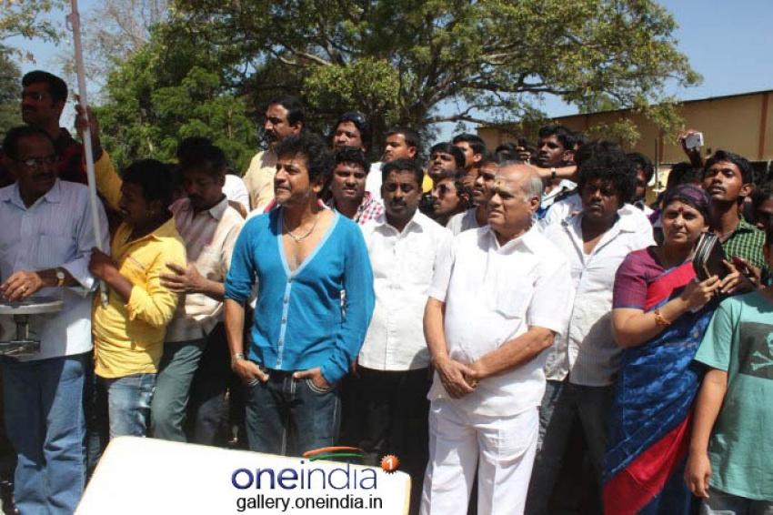 Puneeth Rajkumar's Rana Vikrama Movie Opening Photos