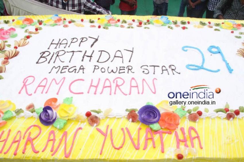 Ram Charan 29th Birthday Bash Photos