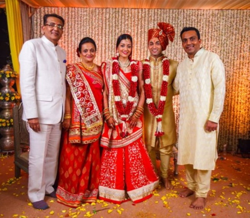 Ruslaan Mumtaz and Nirali Mehta Wedding Photos