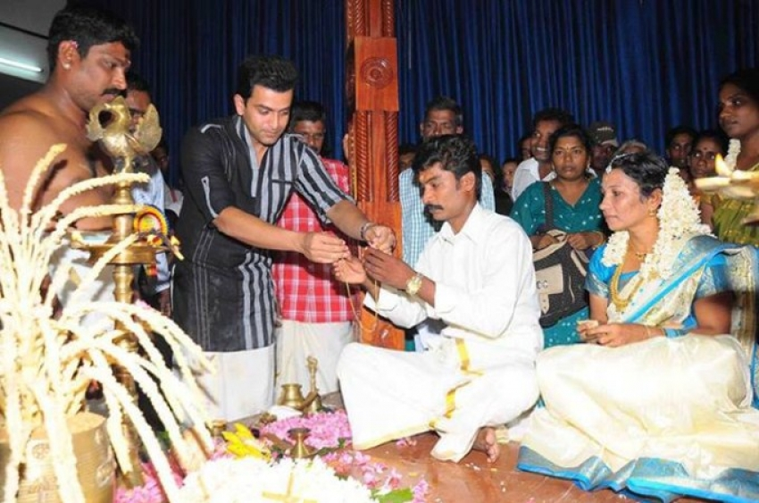 Samooha Vivaham By All Kerala Prithviraj Fans and Welfare Association Photos