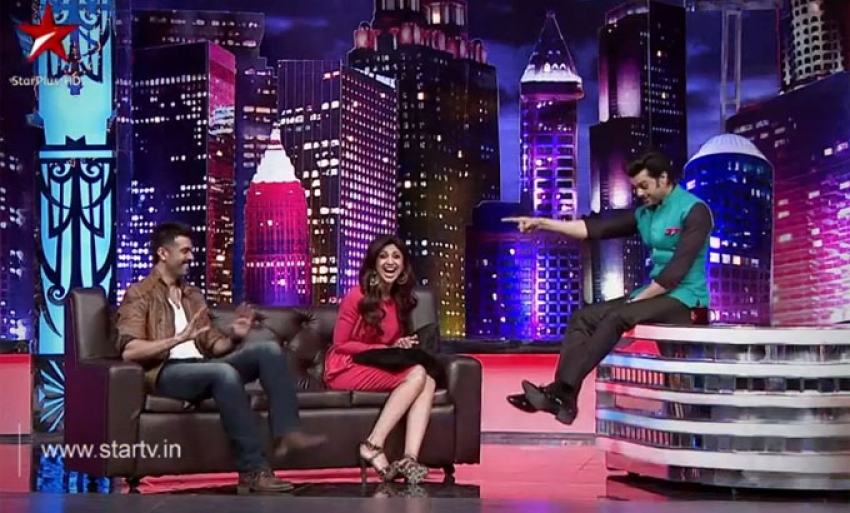 Shilpa Shetty and Harman Baweja on Mad In India TV Show Photos