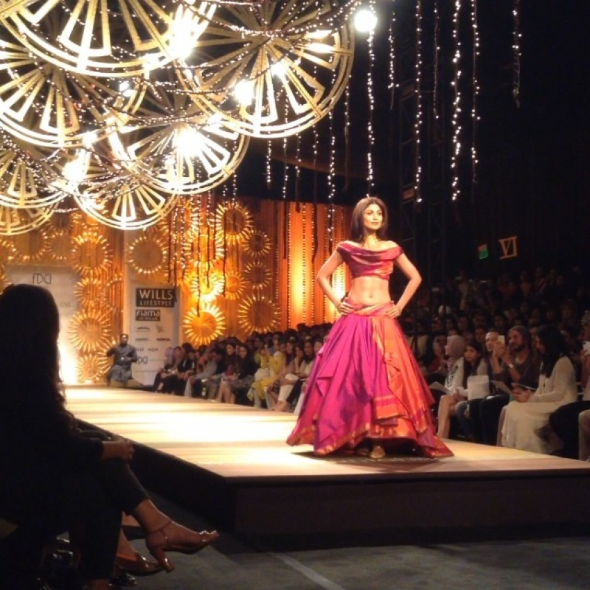 Celebs walks the ramp at WIFW AW 2014 Photos