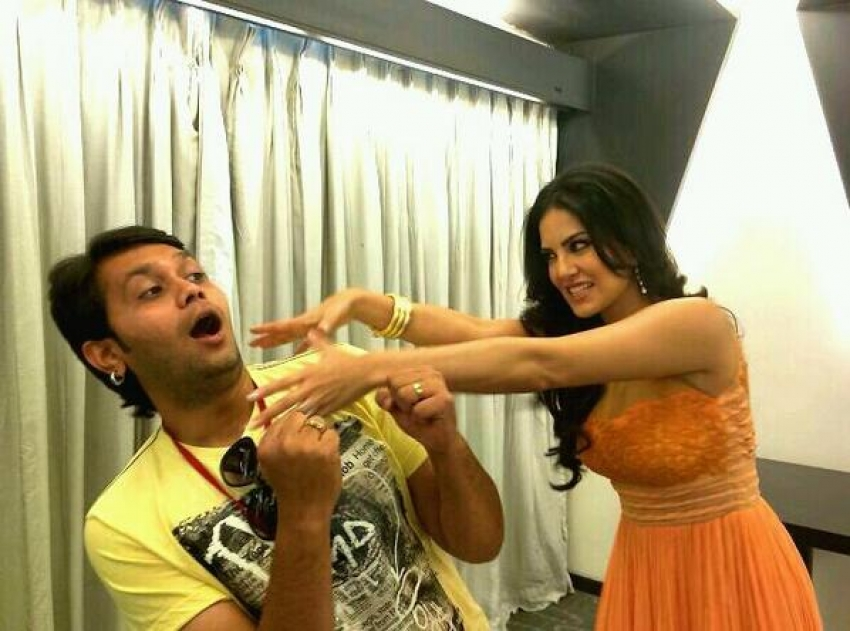 Sunny Leone promote Ragini MMS 2 in Ahmedabad Photos