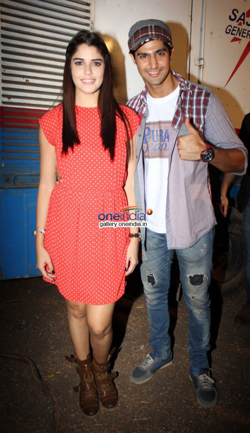 Purani Jeans starcast visits Rajiv Gandhi Institute of Technology Juhu Photos