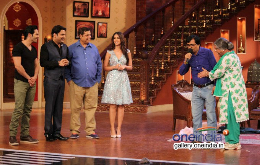 Main Tera Hero promotion on the sets of Comedy Nights with Kapil Photos