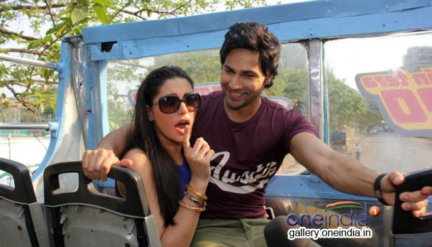 Varun Dhawan and Nargis Fakhri promote Main Tera Hero Photos