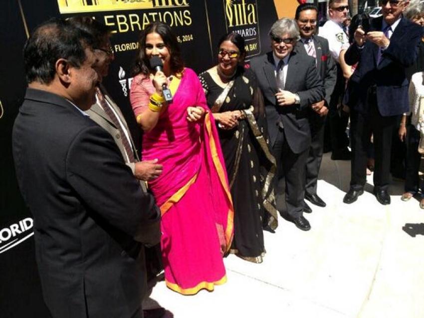 Vidya Balan promote IIFA 2014 in Tampa Bay Photos