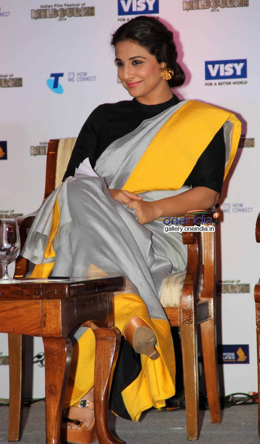 Vidya Balan at press conference of Indian Film Festival of Melbourne Photos