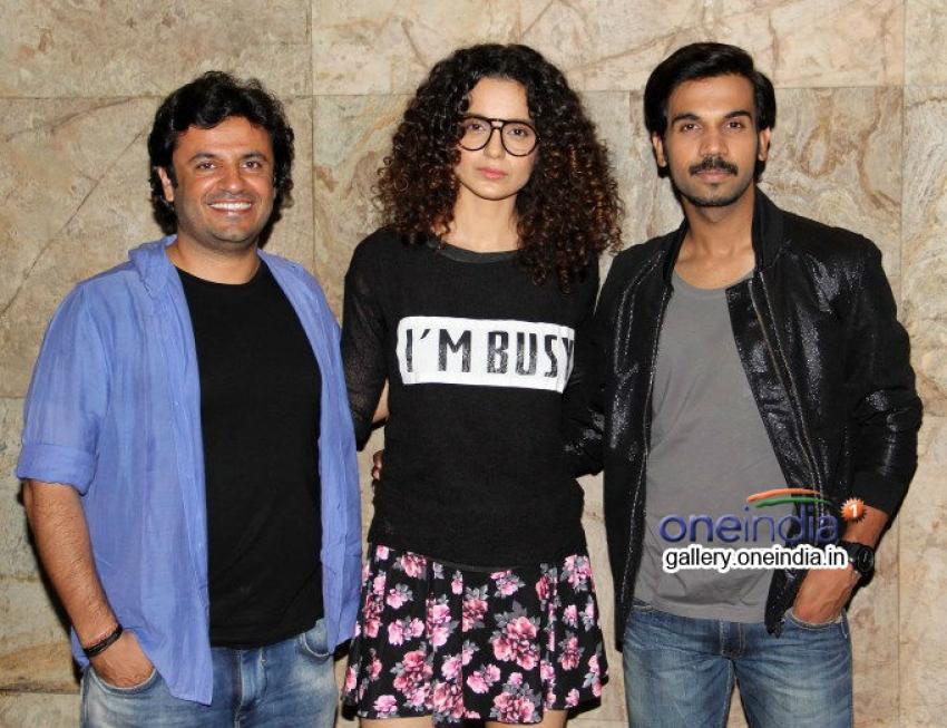 Kangna Ranaut and Sonakshi Sinha at Queen film screening Photos