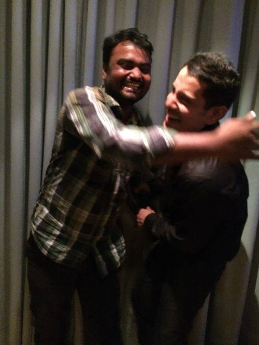 Shankar's Ai film party Photos