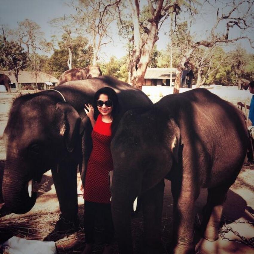 VJ Ramya Subramanian with her hubby Aparajith Jayaraman Photos
