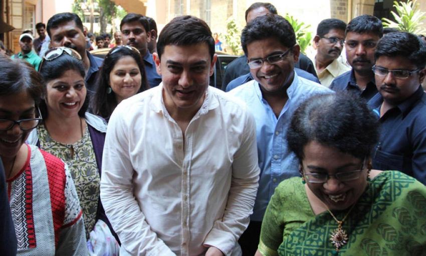 Aamir Khan at Maharashtra Organ Donation Day Photos