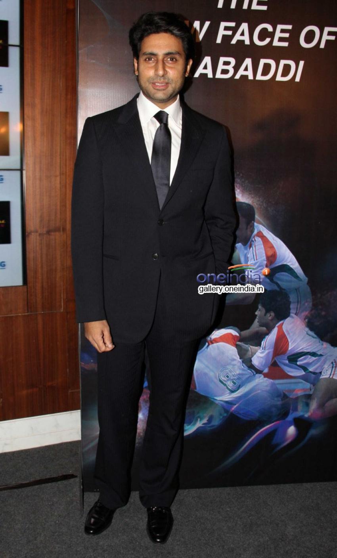 Abhishek Bachchan at Pro Kabaddi League press conference Photos