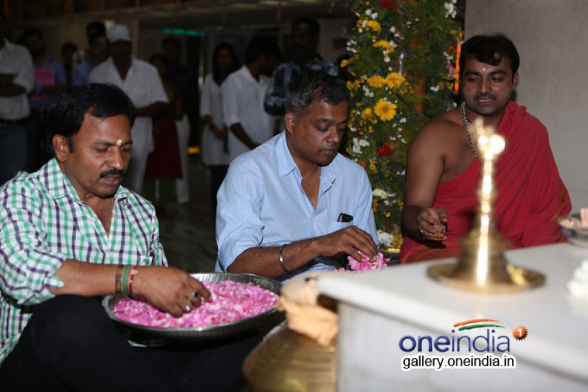 Ajith 55th Film Pooja Photos