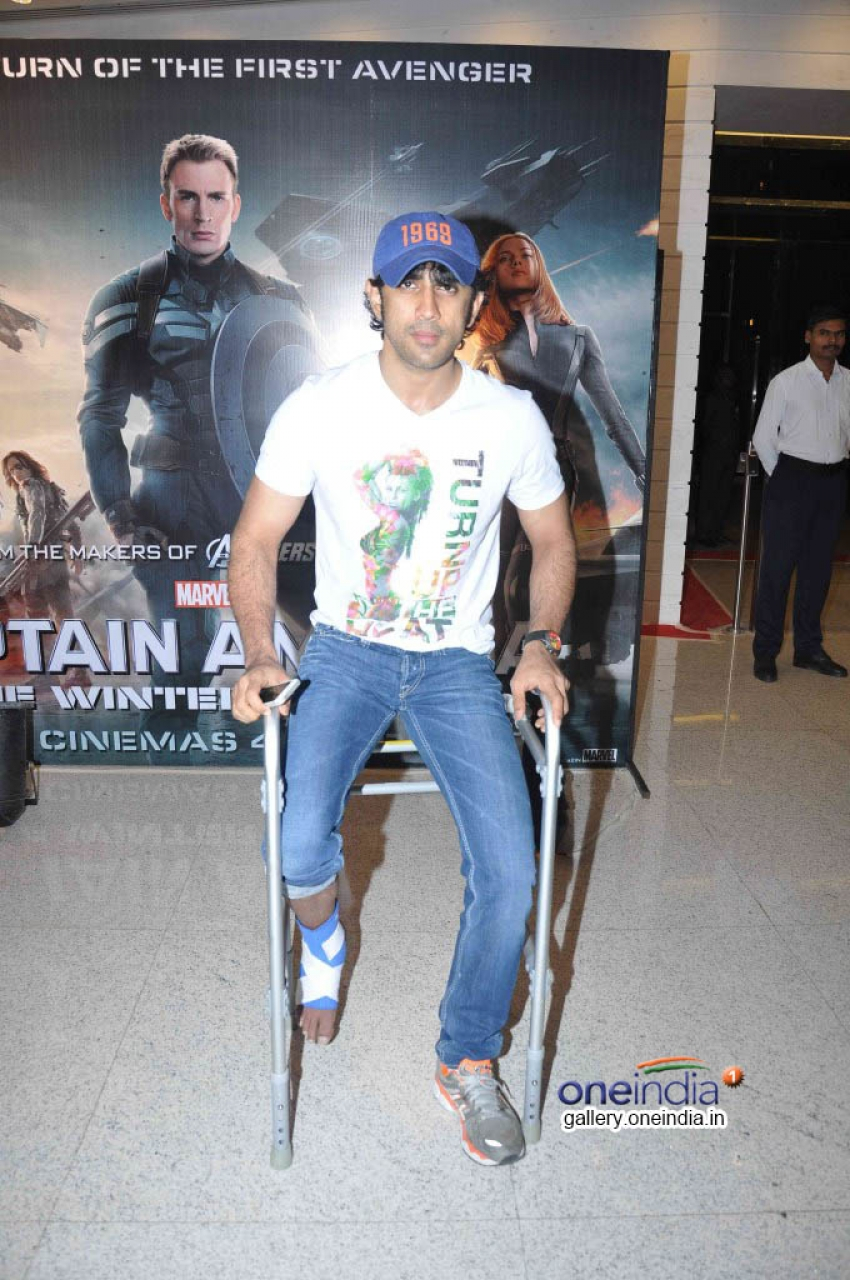 Celebs at the Special Screening of Captain America Photos