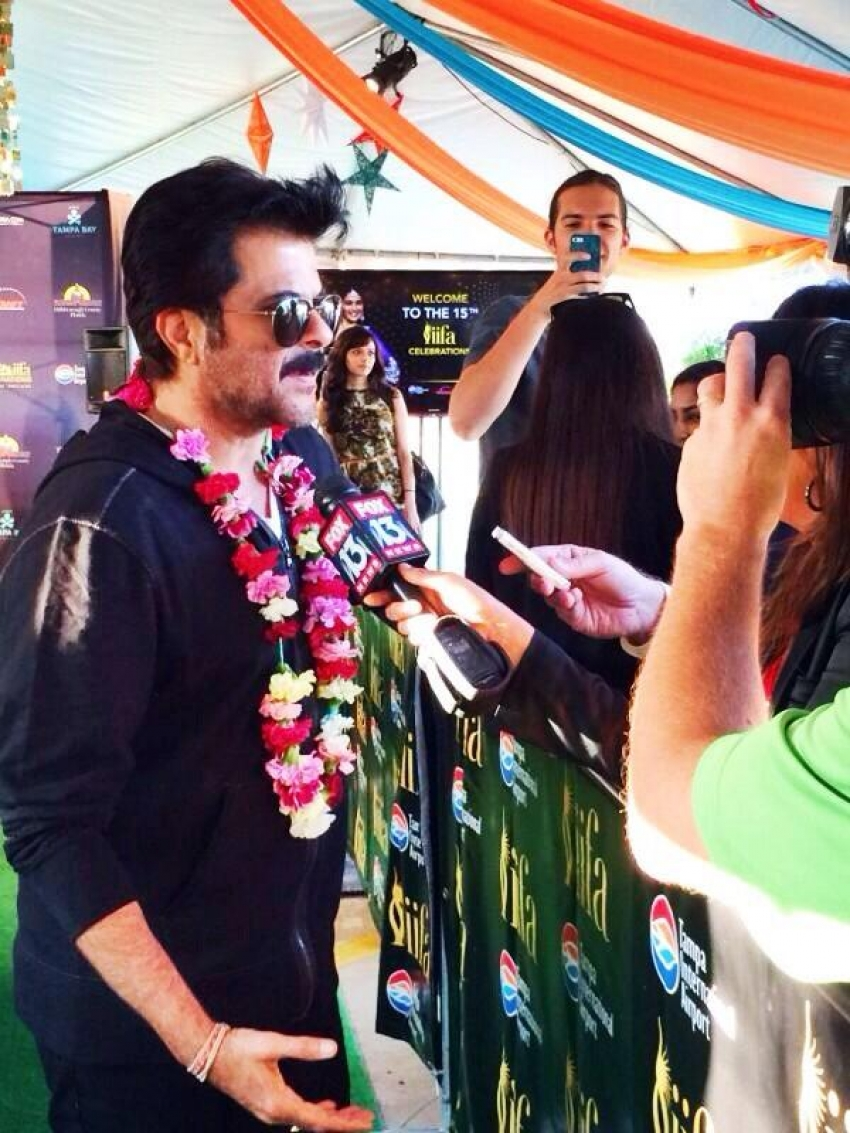 Celebs arrives at Tampa International Airport for IIFA 2014 Photos