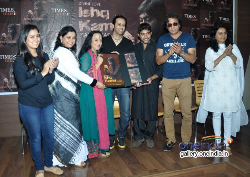 Launch of Ali Abbas album Ishq Kamal Photos