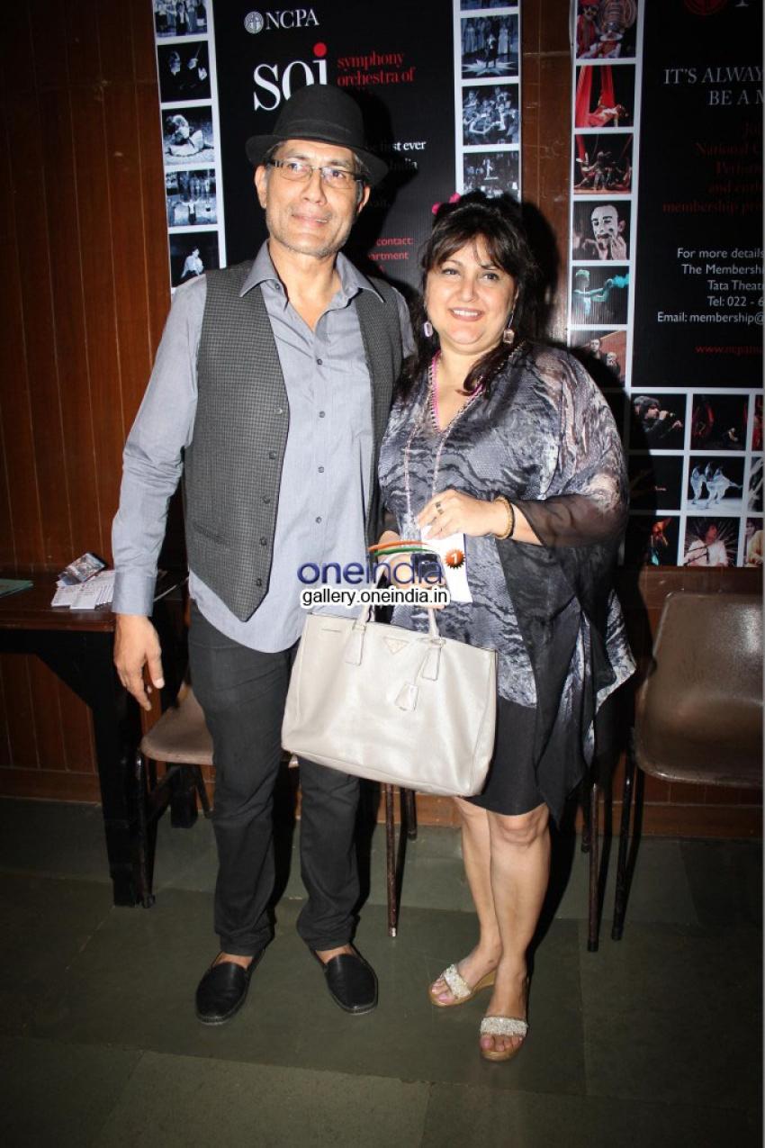 Anu Aggarwal came to see a play at NCPA Theatre Mumbai Photos