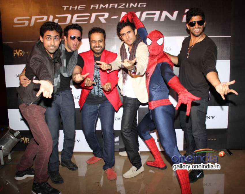 Screening of film The Amazing Spider-Man 2 Photos