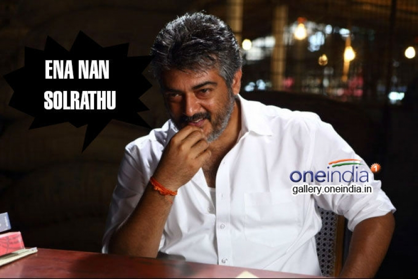Ajith's Top Dialogues in Tamil Movies Photos