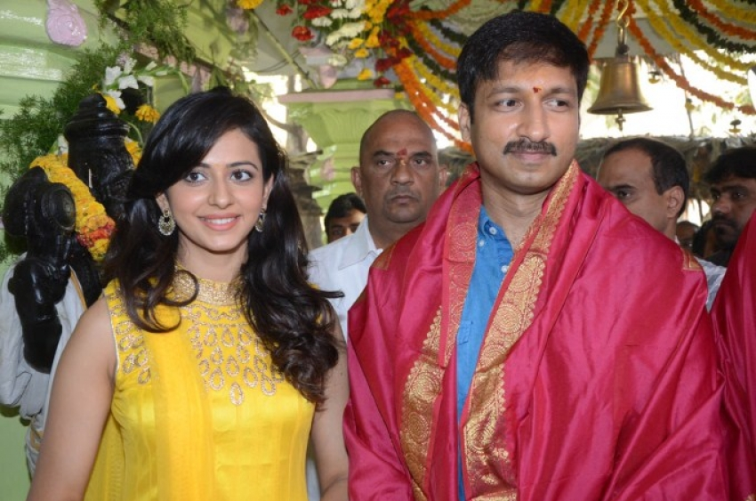 Gopichand New Movie Launch Photos