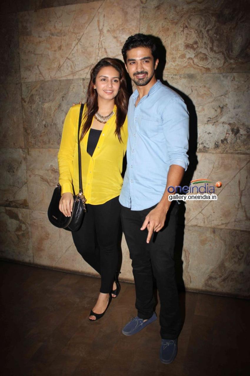 Huma Qureshi and Saqib Saleem attends Hawaa Hawaai film screening Photos