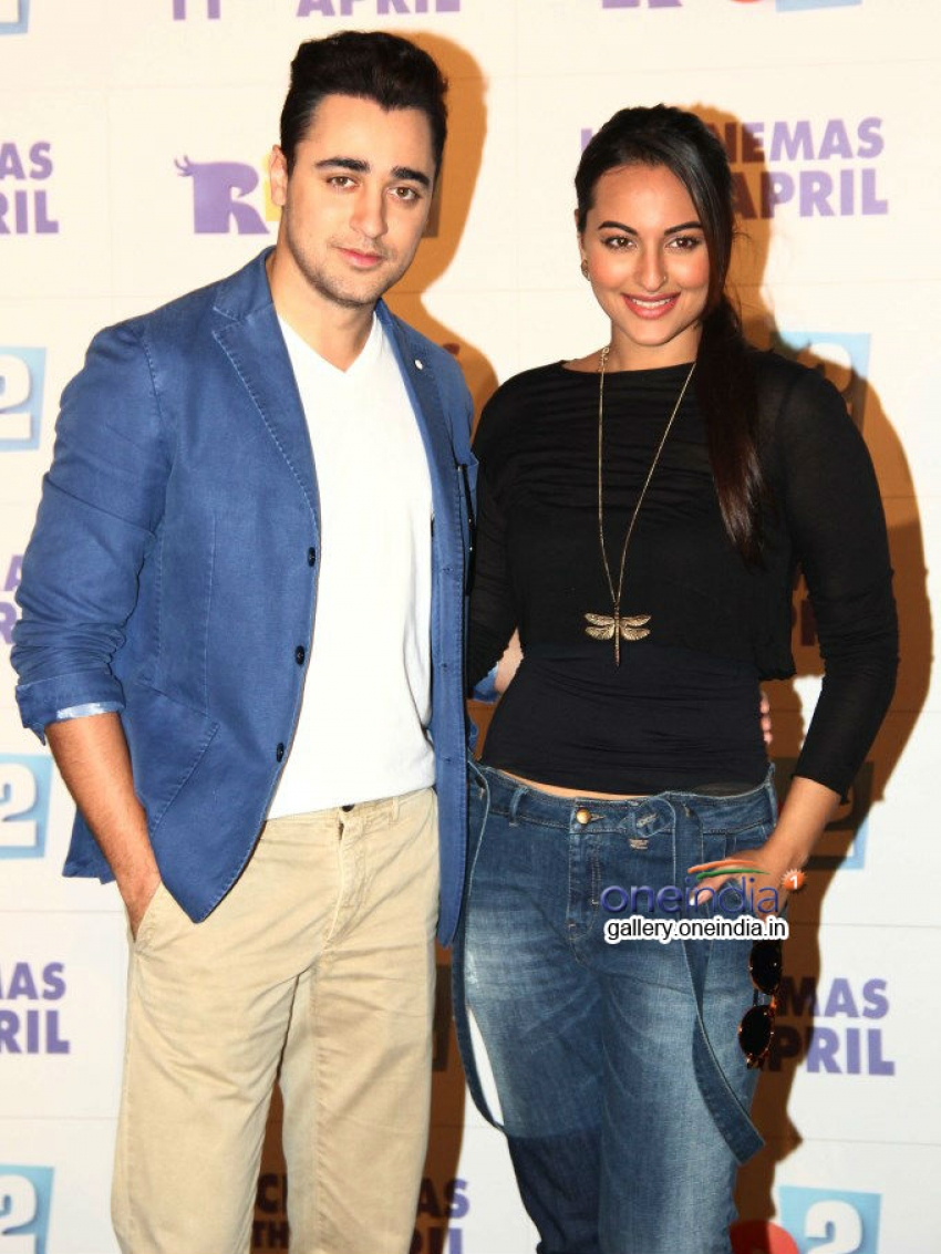 Imran Khan and Sonakshi Sinha promotes Rio 2 Photos
