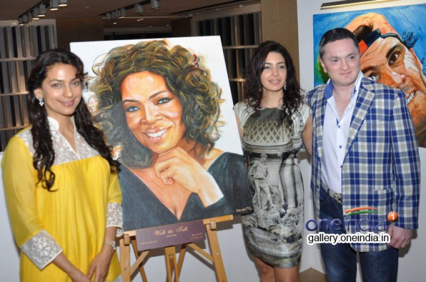 Nawaz Modi's Solo Art Exhibition Photos
