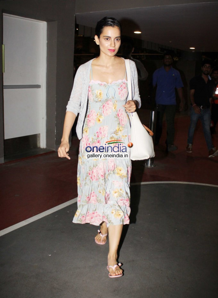 Deepika, Kangna and others snapped returning from IIFA 2014 Photos