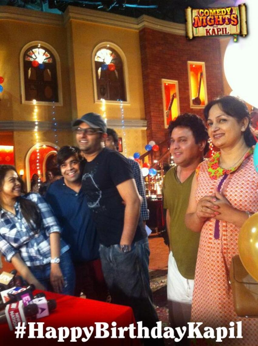 Kapil Sharma's 33rd birthday bash Photos