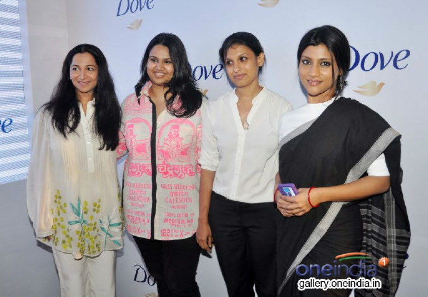 Konkona Sen Sharma attends the pannel discussion of DOVE PATCHES EXPERIMENT Photos