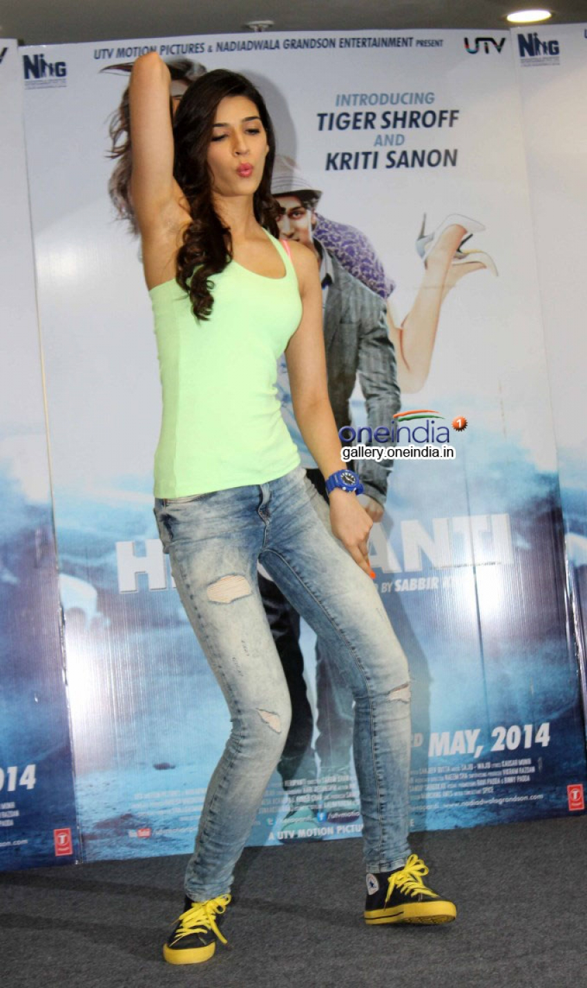 Promotion of film Heropanti on World Dance Day Photos