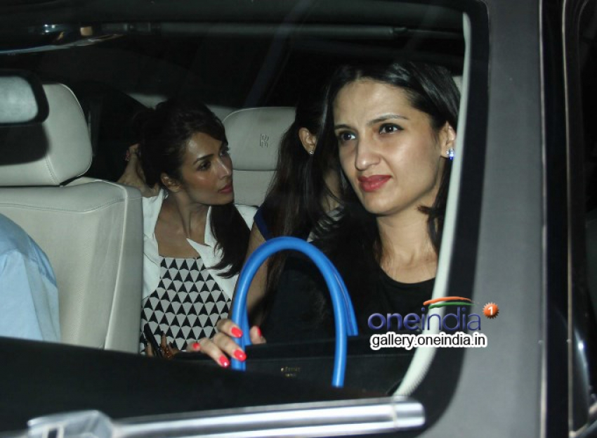 Sonakshi Sinha, Alia Bhatt and Arjun Kapoor at 2 States special screening Photos