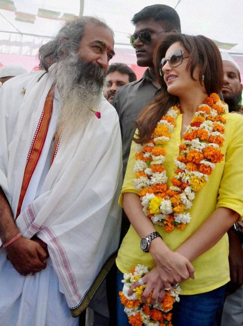 Celebrities active in politics