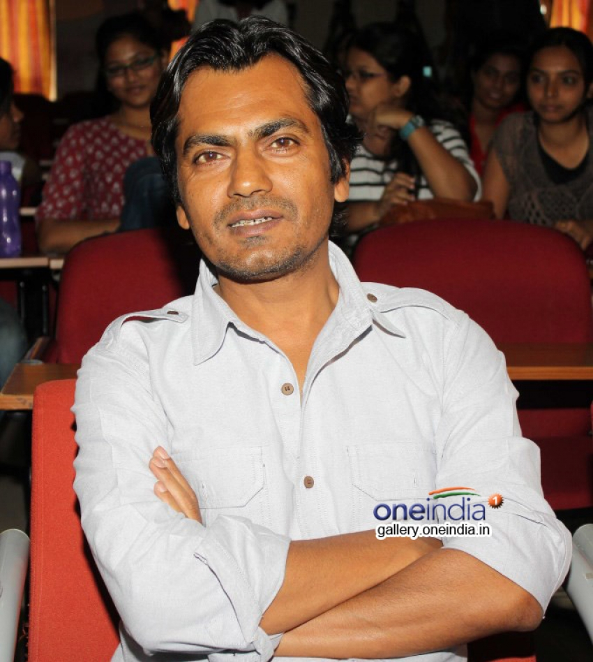 Nawazuddin Siddiqui at Mumbai University Photos