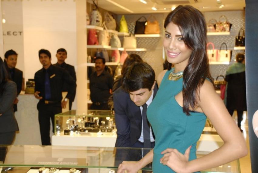 Nicole Faria Launches Geneva Watch Collection Photos