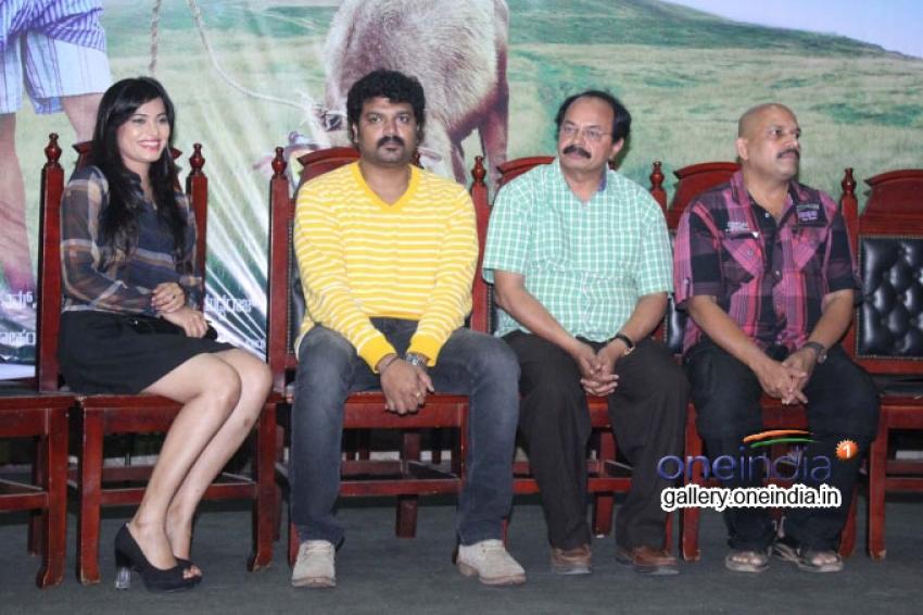 Typical Kailas Film Press Meet Photos