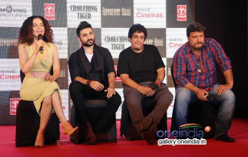 Press conference of film Revolver Rani Photos