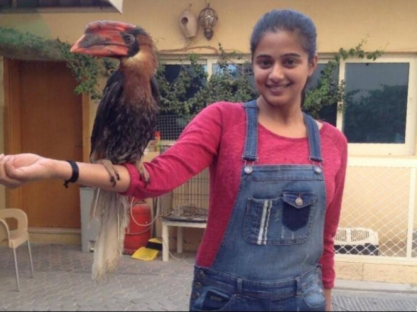 Priyamani visits Animal farm Photos