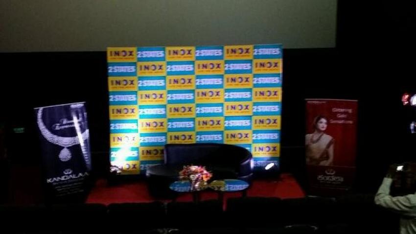 Arjun Kapoor and Alia Bhatt promote 2 States in Bangalore Photos