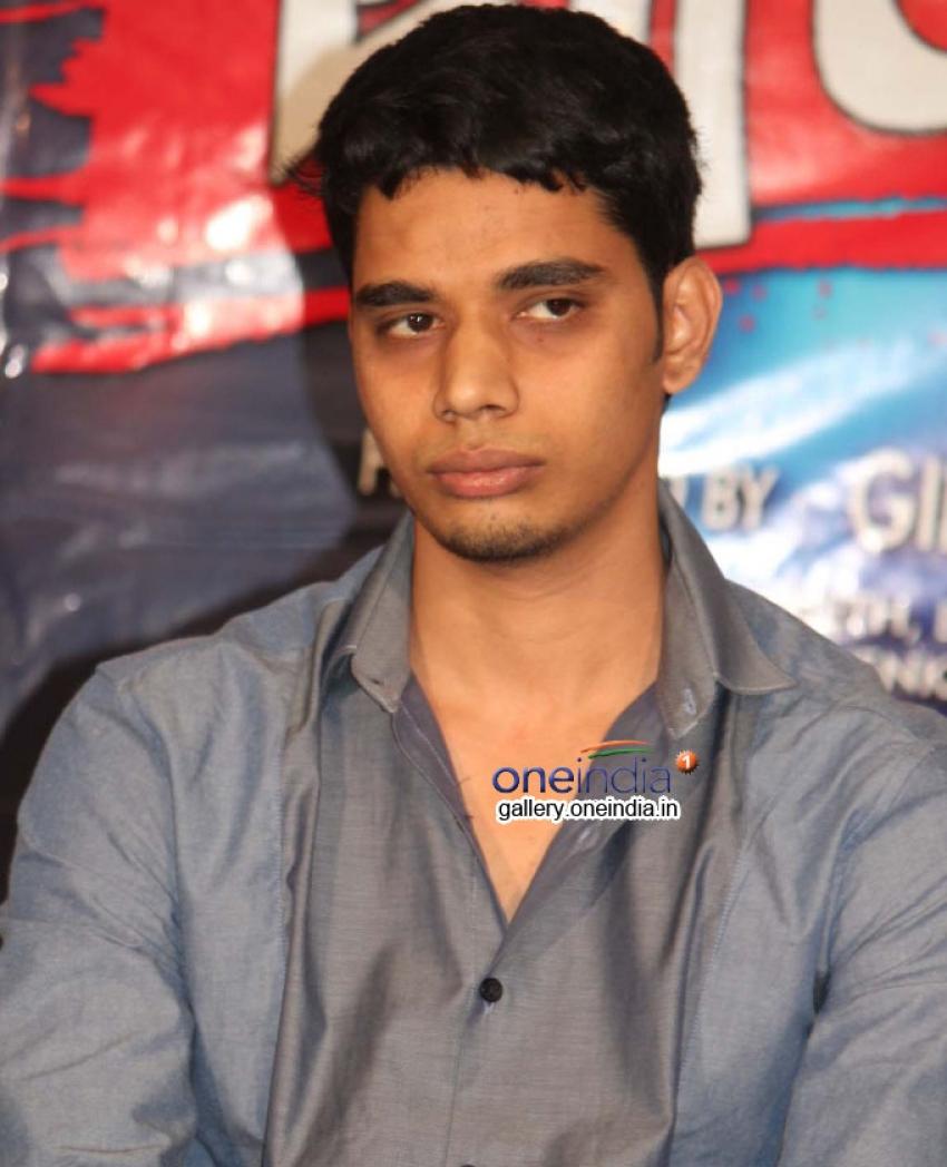Pulakeshi Movie Press Meet Photos