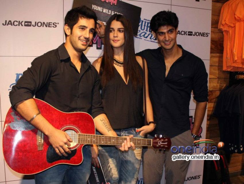 Purani Jeans film promotion at Jack & Jones store Photos