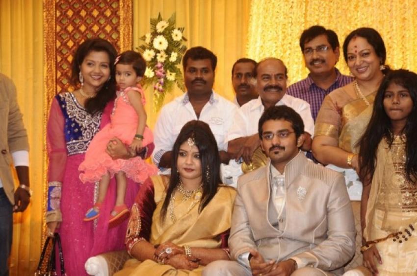 Ramarajan and Nalini's Son Arun's Marriage Photos