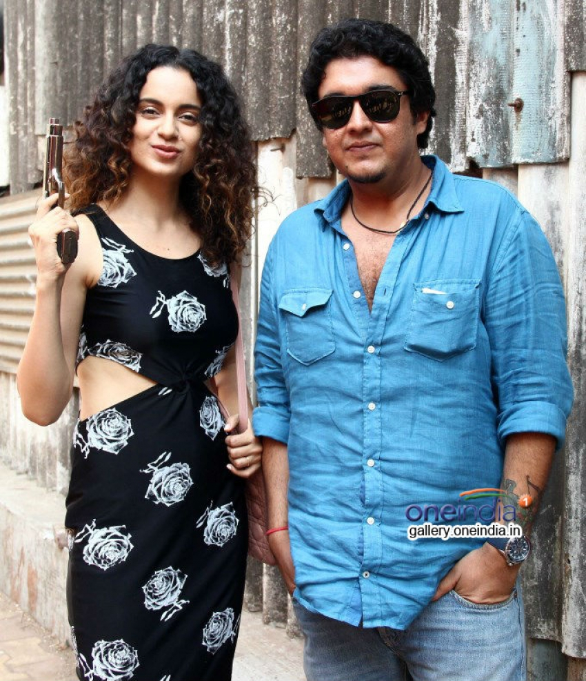 Kangna Ranaut promote Revolver Rani at Filmalaya Studios Photos