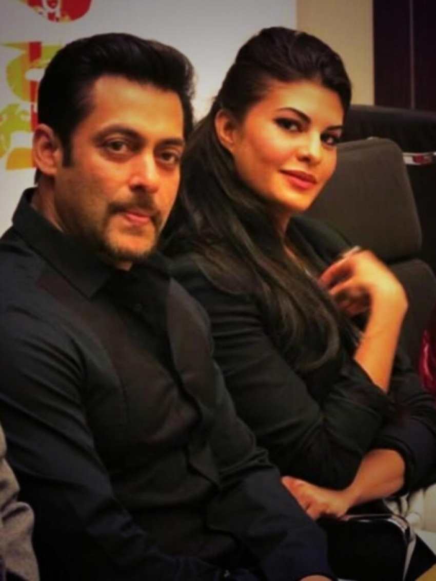 Salman Khan, Jacqueline and Randeep attends Kick film press conference Photos