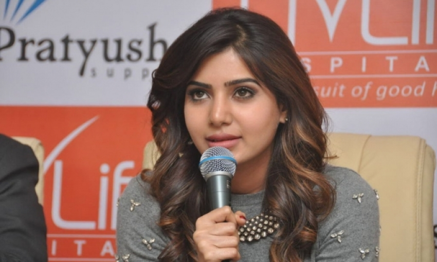 Samantha At Livlife Hospital Join Hands To Work Photos